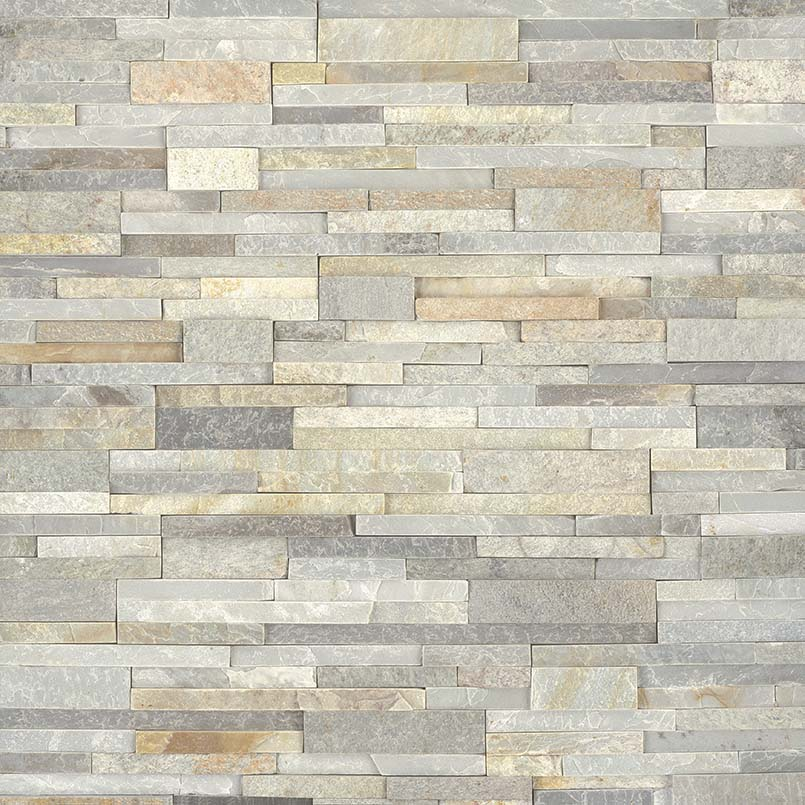 New Golden Honey Stacked Stone Panels