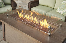 Outdoor Greatroom Pine Ridge 1242 Linear Fire Pit Table - 183-PR-1242