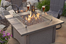 Outdoor Greatroom Pine Ridge 2424 Square Fire Pit Table - 183-PR-2424