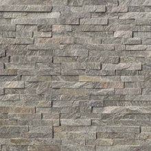 Sage Green Stacked Stone Panels