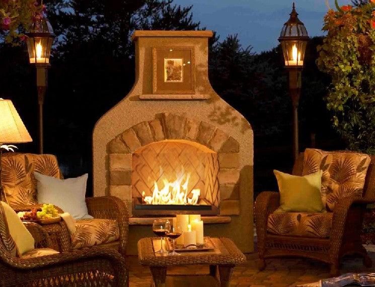 Outdoor Greatroom Sonoma Gas Fireplace -Mocha - SONFS42
