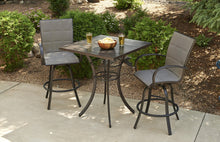 Outdoor Greatroom Empire Collection Sling Back Barstool Set - EMPIRE-PUB