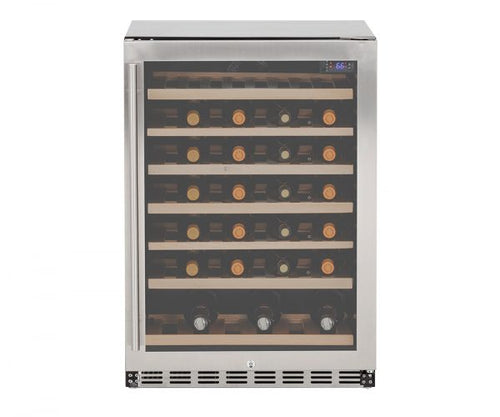 Summerset 5.3 cube UL Deluxe Wine Cooler w/Locking Door - SSRFR-DWC