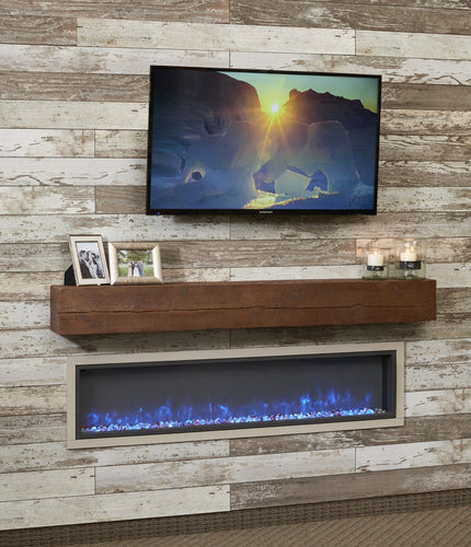Outdoor Greatroom Tavern Supercast Wood Mantel - GWMT-60/72