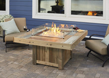 Outdoor Greatroom Square Vintage 2424 Fire Table - 183-VNG-2424BRN