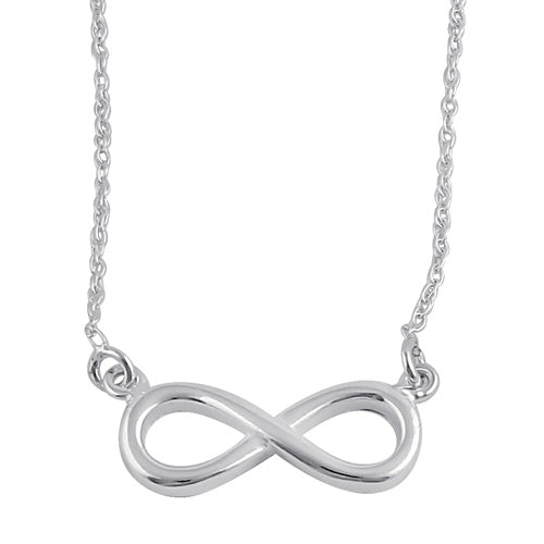 Sterling Silver Infinity Sign Necklace
