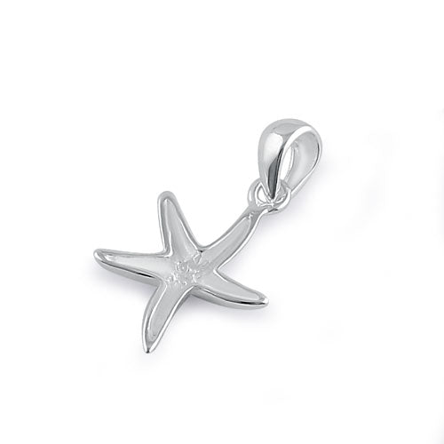 Sterling Silver Star Fish Pendant