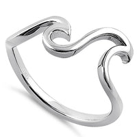 Sterling Silver Epic Waves Ring