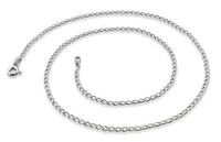Sterling Silver Long Curb Chain 1.65mm