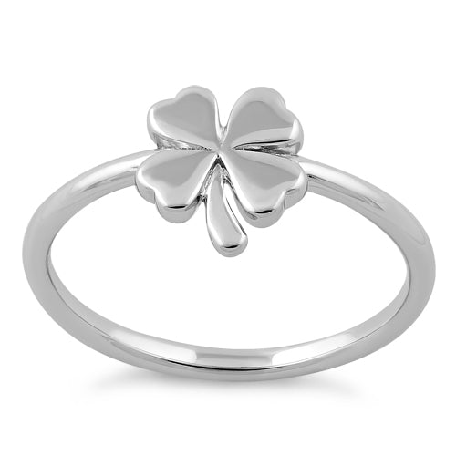 Sterling Silver Clover Ring