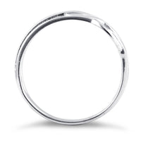 Sterling Silver Abstract Circles Ring