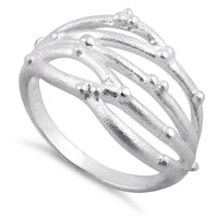 Sterling Silver Abstract Ring