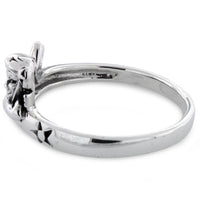 Sterling Silver Angel Ring
