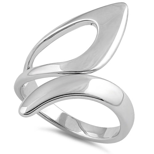 Sterling Silver Bold Unqiue Shapes Ring