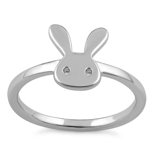 Sterling Silver Bunny Ring