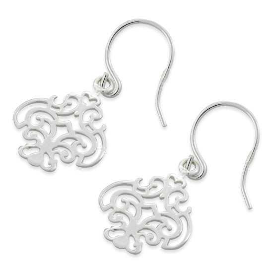 Sterling Silver Classic Dangle Earrings