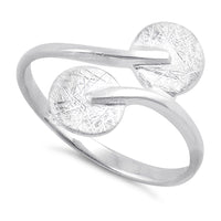 Sterling Silver Double Circle Ring