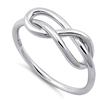 Sterling Silver Figure Eight Knot Ring
