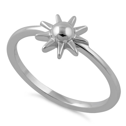Sterling Silver Here Comes the Sun Ring