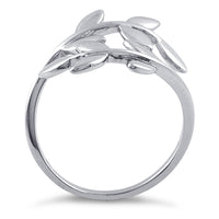 Sterling Silver Leaves Ring