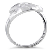 Sterling Silver Magnolia Leaf Ring