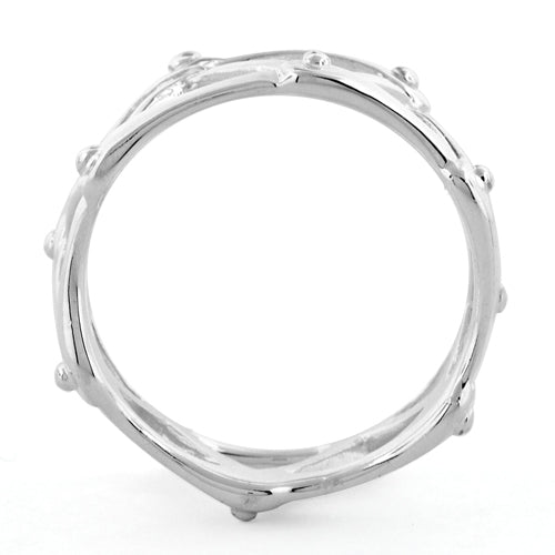 Sterling Silver Mechanical Ring