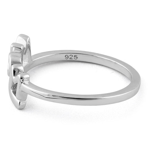 Sterling Silver Mom Ring