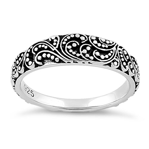 Sterling Silver Mystic Winds Ring