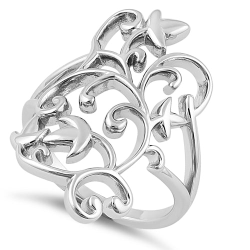 Sterling Silver New Spring Ring