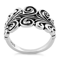 Sterling Silver Ornamental Filigree Ring