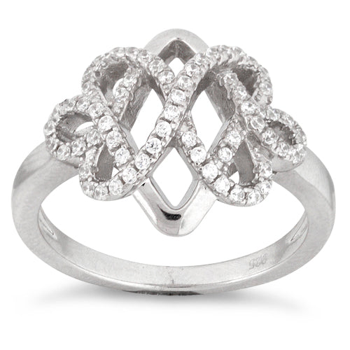 Sterling Silver Royal Pave CZ Ring