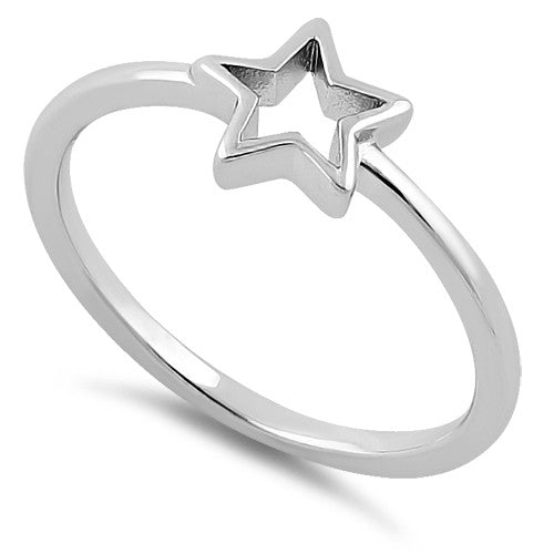 Sterling Silver Shooting Star Ring