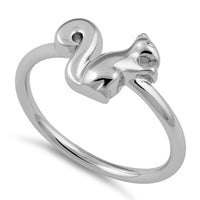 Sterling Silver Squirrel Ring