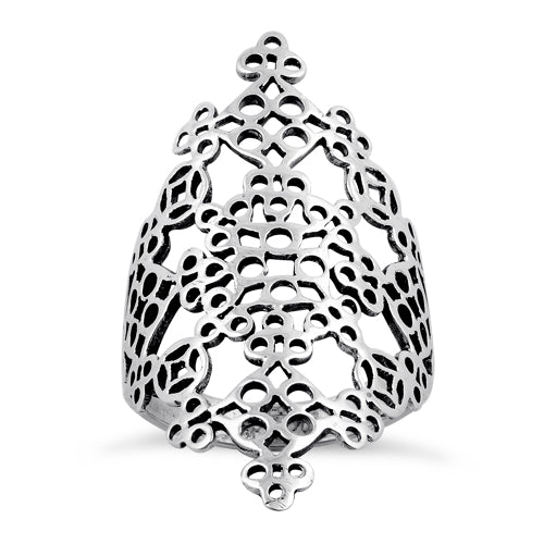 Sterling Silver Tapestry Ring