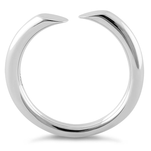 Sterling Silver Unique Adjustable Ring