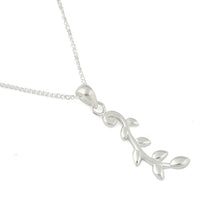 Sterling Silver Vine Necklace