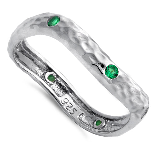 products/sterling-silver-wavey-hammered-green-cz-ring-16.jpg