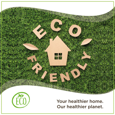 Your healthier home. Our healthier planet. Go Green.