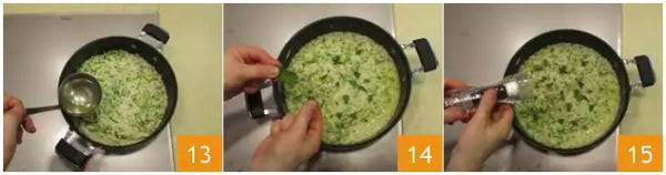 rice risotto recipe zucchini courgette