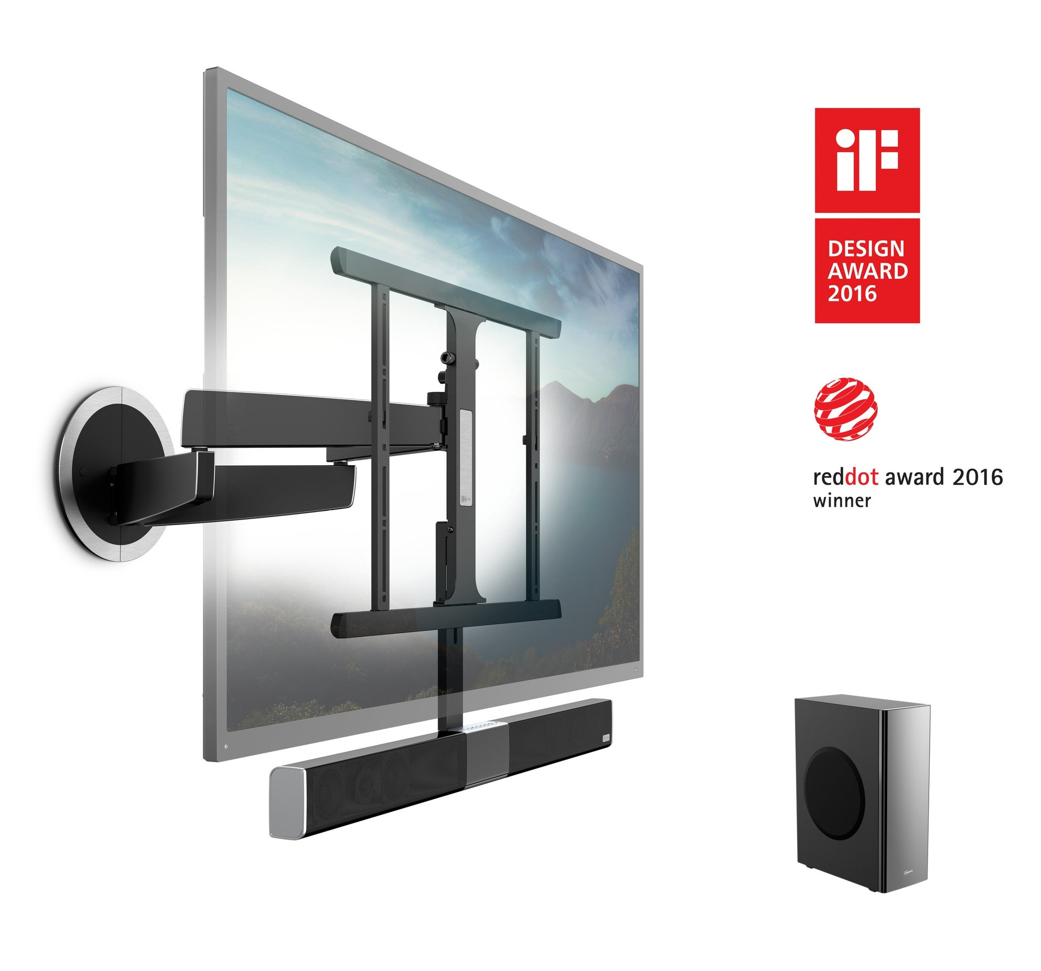 Vogels Soundmount Next 8365 Full Motion Tv Wall Mount With