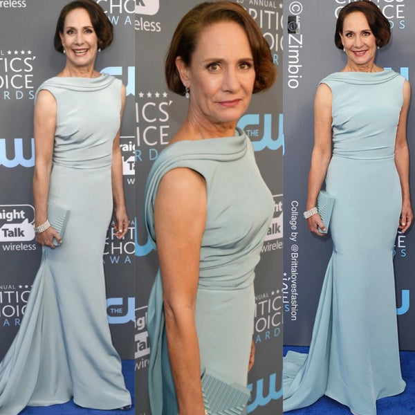 """Lady Bird"" Actress Laurie Metcalf Steps Out in Pollice Lee At The Critics' Choice Awards"