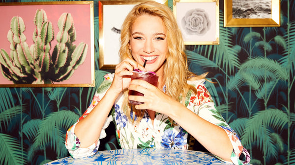 The Coveteur Featured Actress Yael Grobglas Wearing Pollice Lee