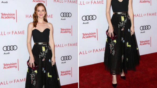 "Sarah Drew Wears Pollice Lee at the ""Television Academy's 24th Hall of Fame"" Ceremony"