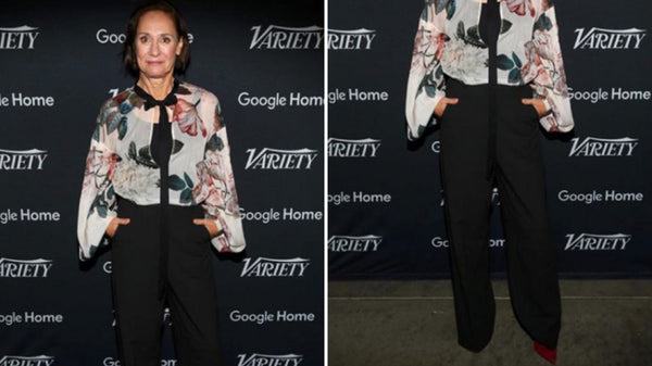 "Laurie Metcalf Steps Out in Pollice Lee at the ""Variety Studio: Actors on Actors"" lounge"
