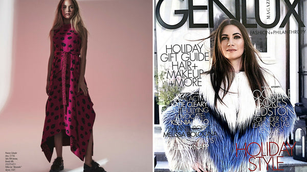 Featured in Holiday Issue of Genlux Magazine