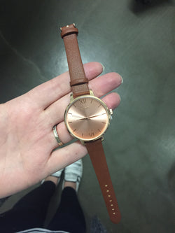 LIMITED EDITION ROSE GOLD BROWN