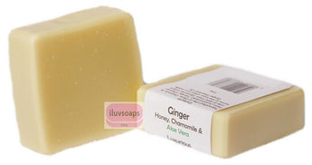 Ginger, Honey, Chamomile & Aloe Vera - iluvsoaps Singapore