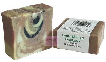 ILUVSOAPS Lemon Myrtle and Eucalyptus
