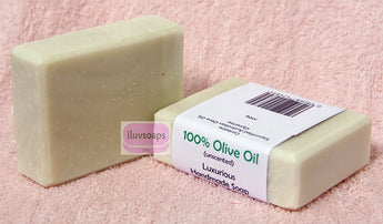 100% Olive Oil Soap - iluvsoaps Singapore