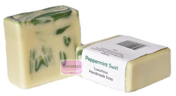 Peppermint Swirl - iluvsoaps Singapore